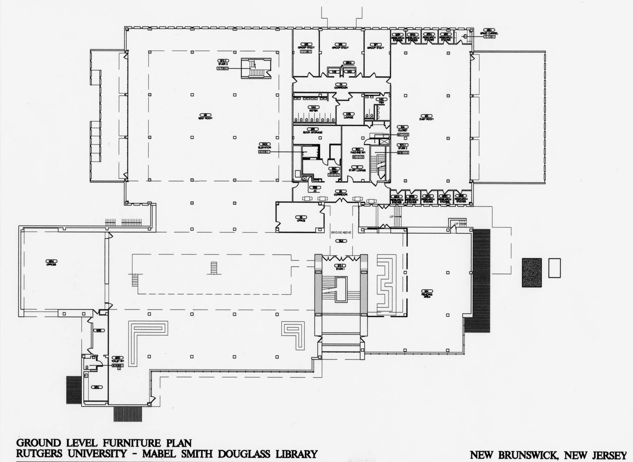 Mable Smith Douglass Library Dennis George Link Aia Leed Ap Ncarb