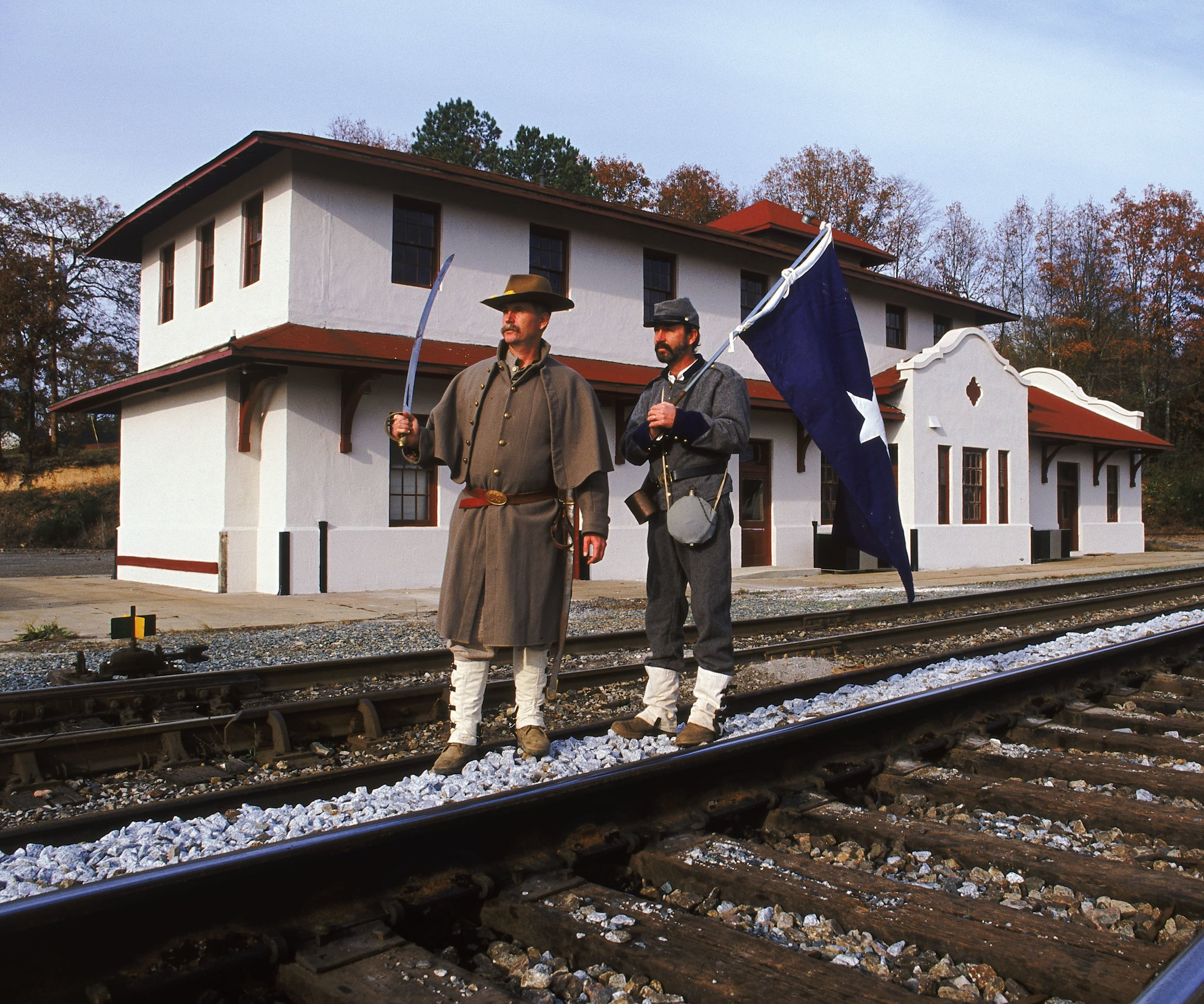 Civil War Reenactment in Alabama