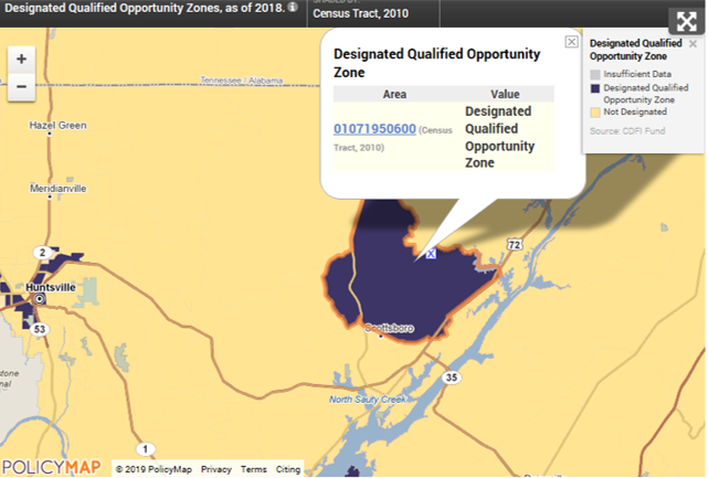 Scottsbor Opportunity Zones