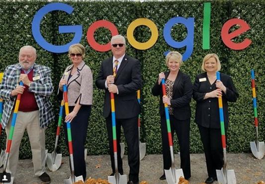 Google Groundbreaking Jackson County