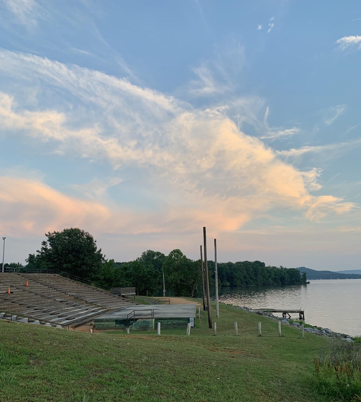 Goose Pond Colony Ampitheater.JPG