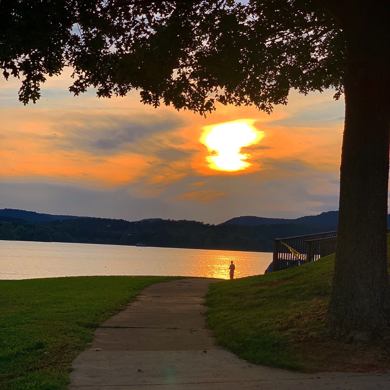 Goose Pond Sunset.JPG