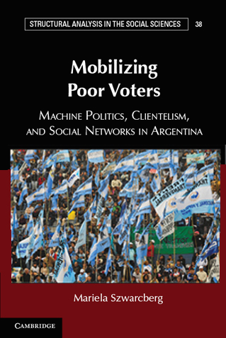 - Democracy has provided opportunities for political representation and accountability, but it has also created incentives for creating and maintaining clientelistic networks. Why has clientelism consolidated with the introduction of democracy? Drawing on network analysis, Mobilizing Poor Voters answers this question by describing and explaining the emergence, maintenance, and disappearance of political, partisan, and social networks in Argentina. Combining qualitative and quantitative data gathered during twenty-four months of field research in eight municipalities in Argentina, Mobilizing Poor Voters shows that when party leaders distribute political promotions to party candidates based only on the number of voters they mobilize, party leaders incentivize the use of clientelistic strategies among candidates competing to mobilize voters in poor neighborhoods. The logic of perverse incentives examined in this book explains why candidates who use clientelism succeed in getting elected and re-elected over time, contributing to the consolidation of political machines at the local level.