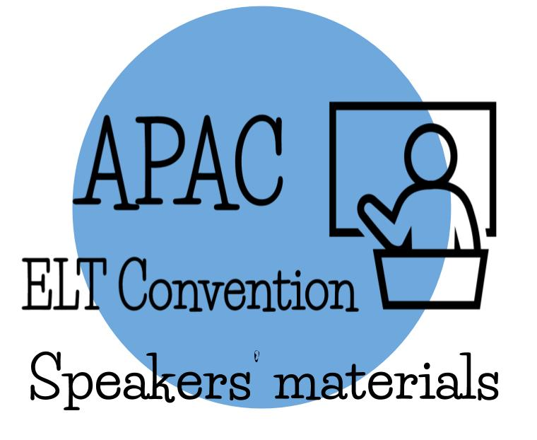 Click on the image to see the materials provided by speakers during previous editions of our ELT Convention