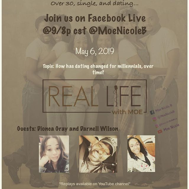 Catch us next week on The Real Life! Links can be found in the bio.