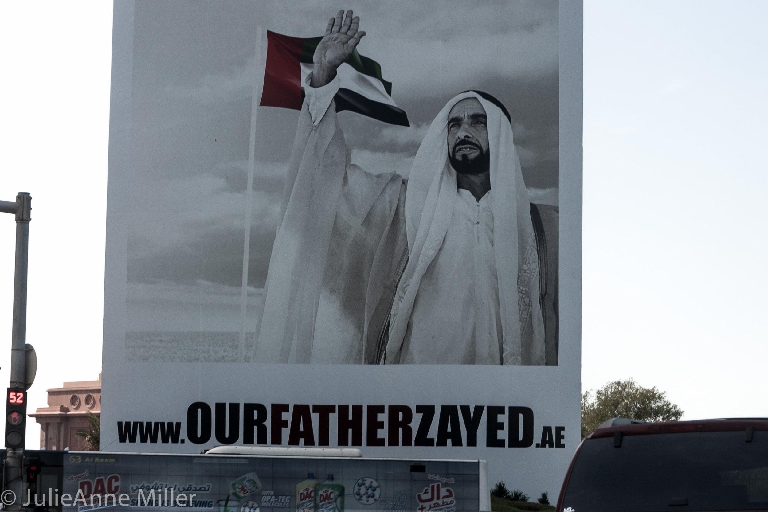 UAE Father Zayed bin Sultan Al Nahyan