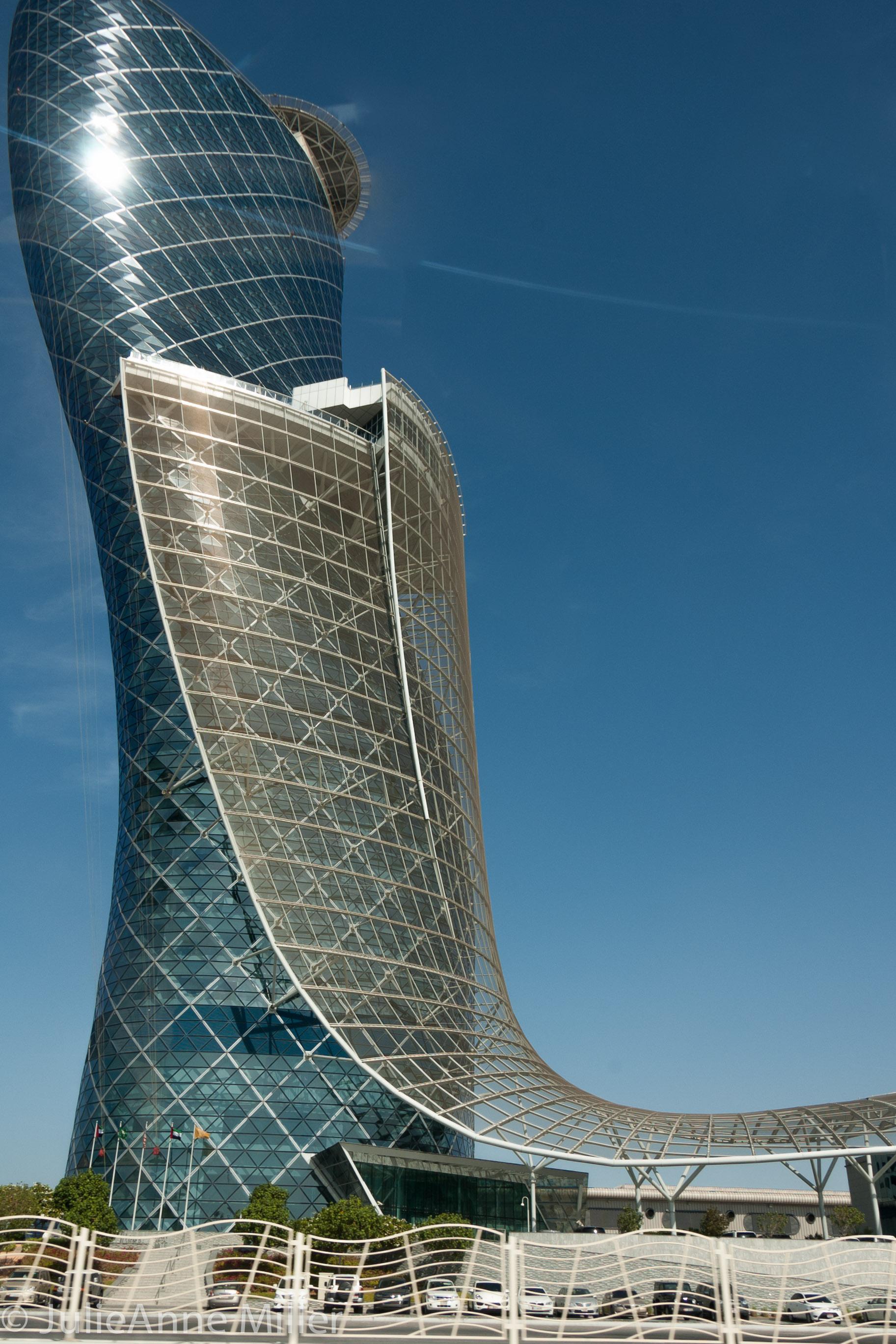 Capital Gate Tower, Abu Dhabi, UAE
