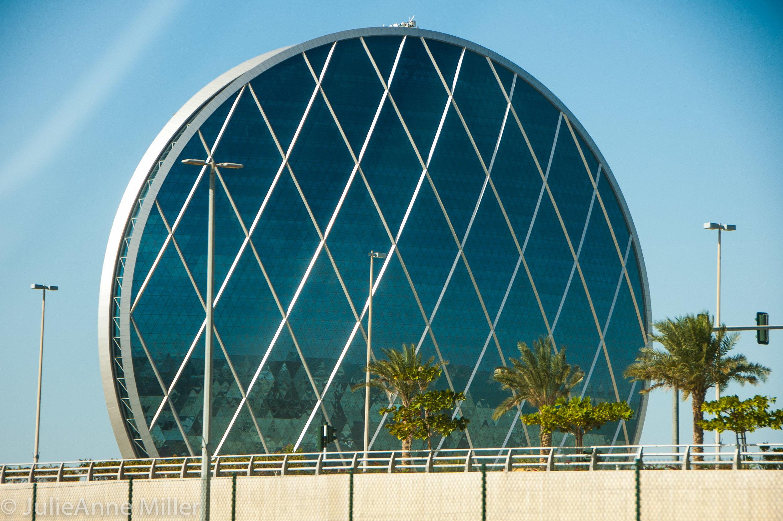 Aldar headquarters building, Abu Dhabi, UAE