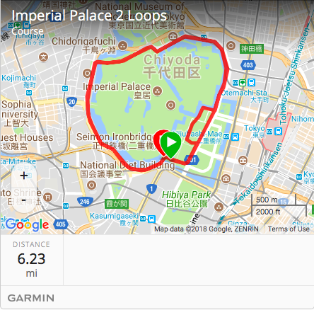 Tokyo Imperial Palace Run Route.png