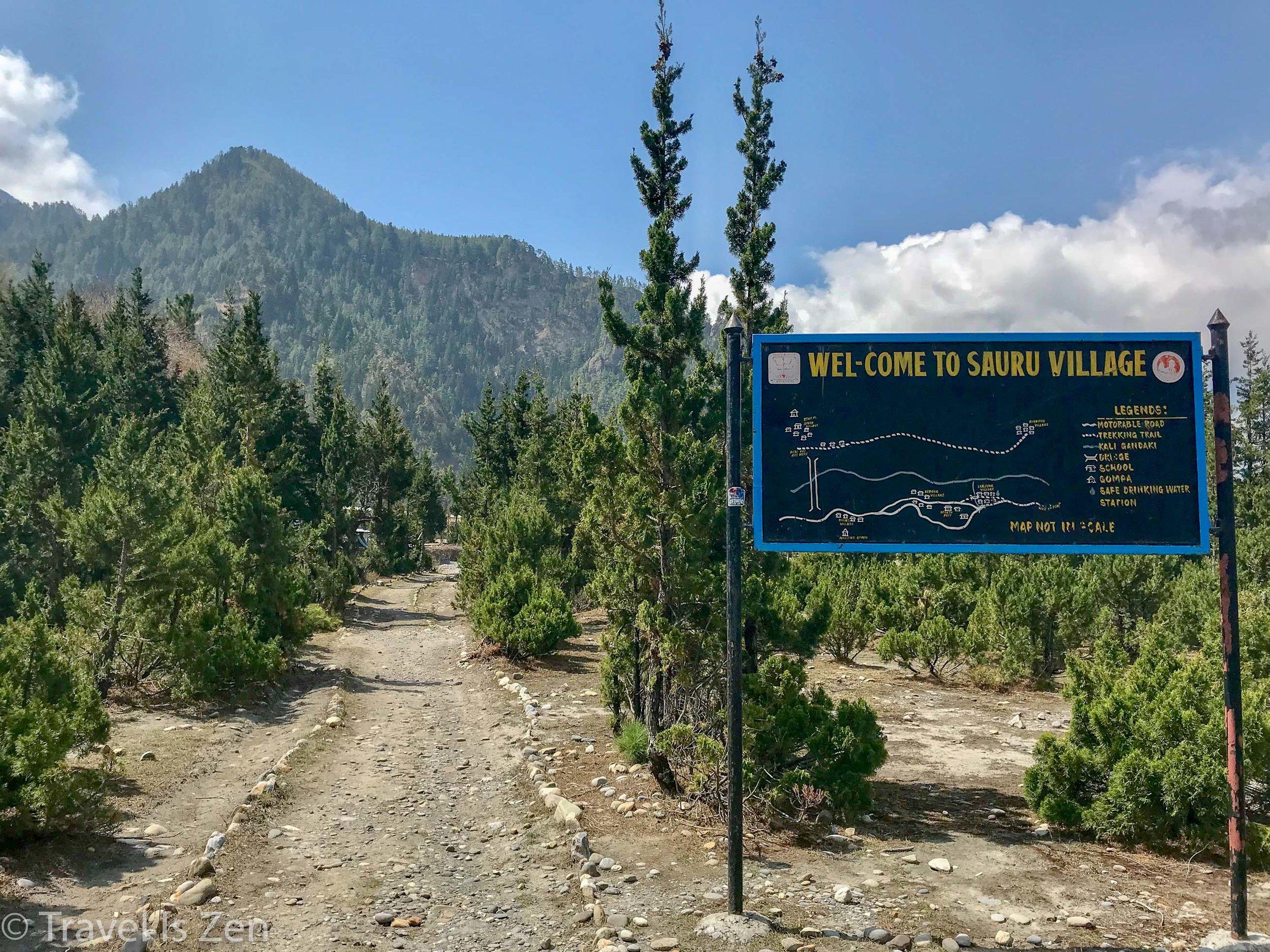 Sauru Village