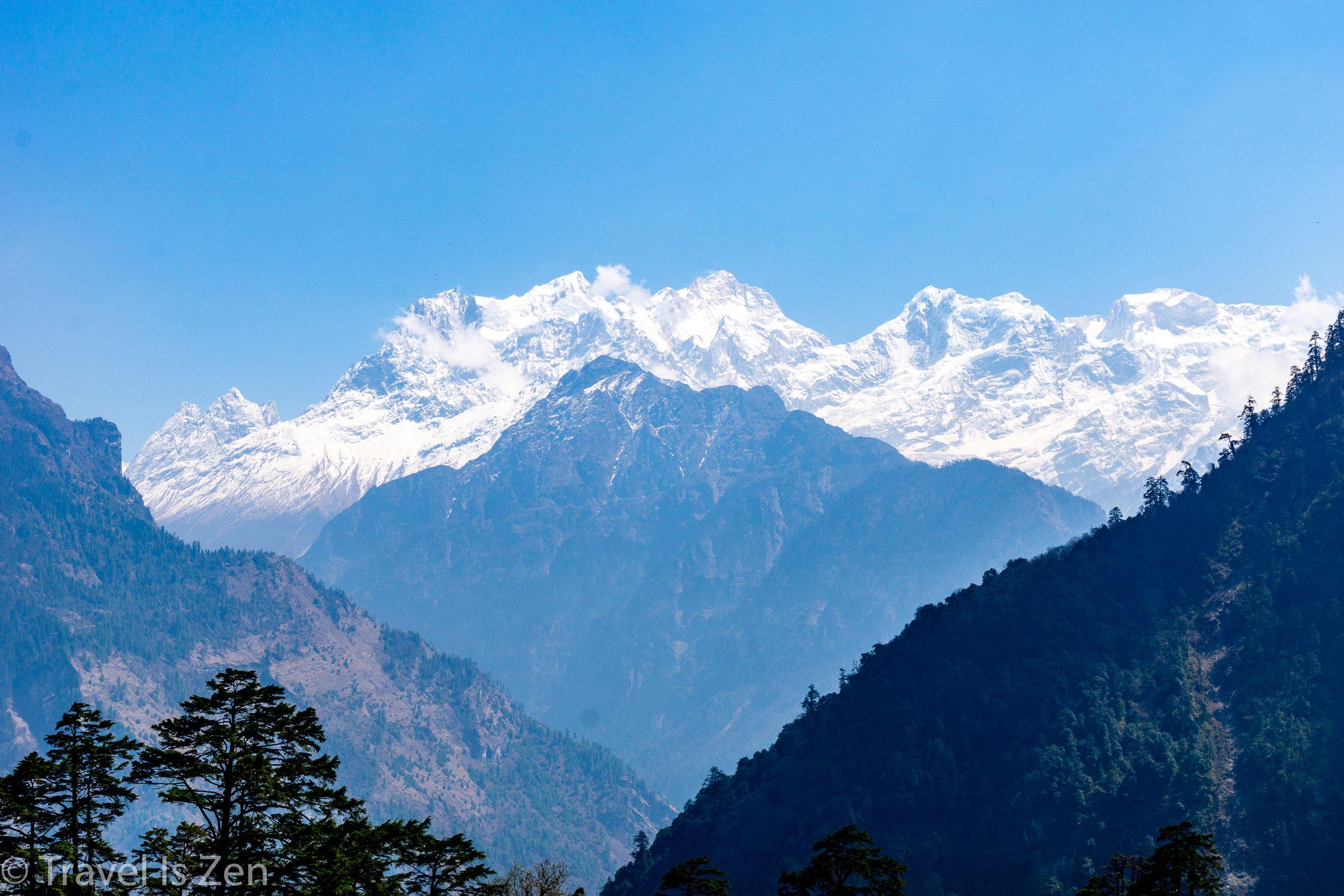 Annapurna II, IV, III