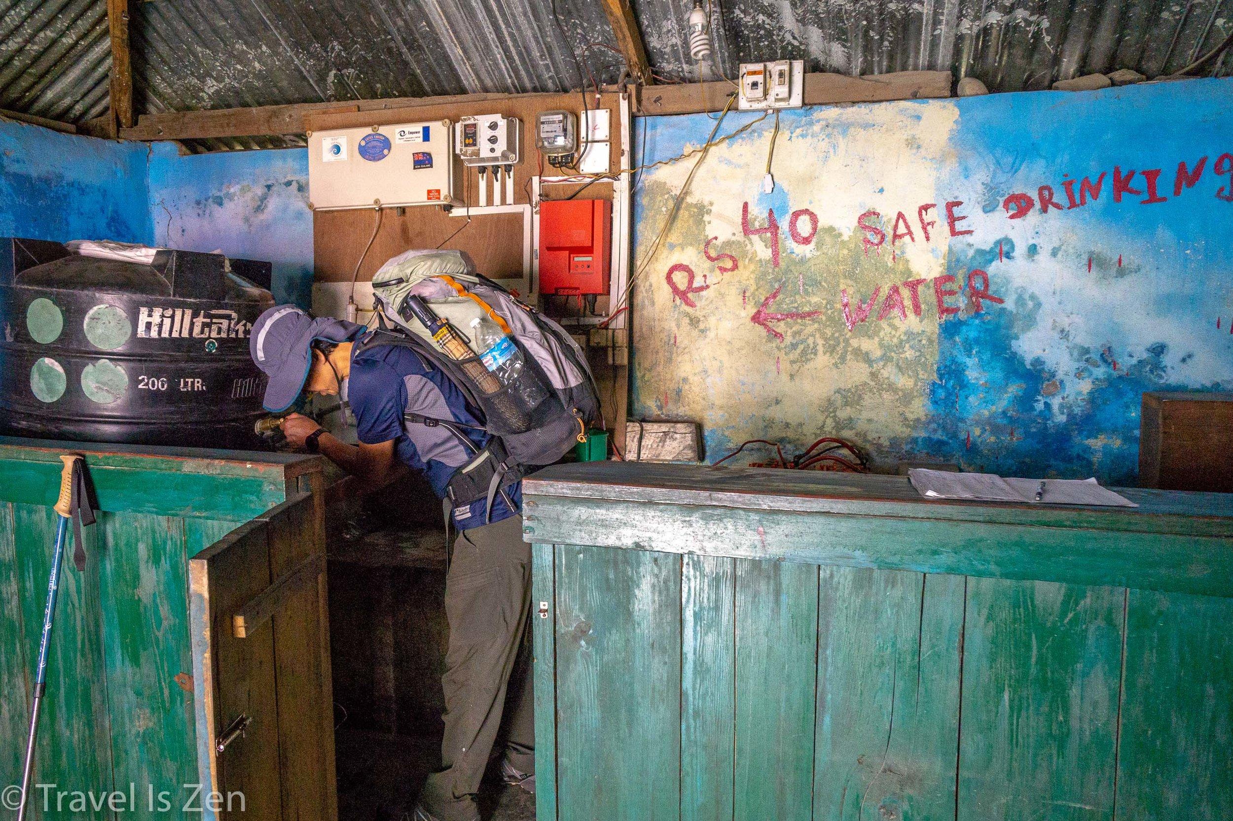 ACAP water station