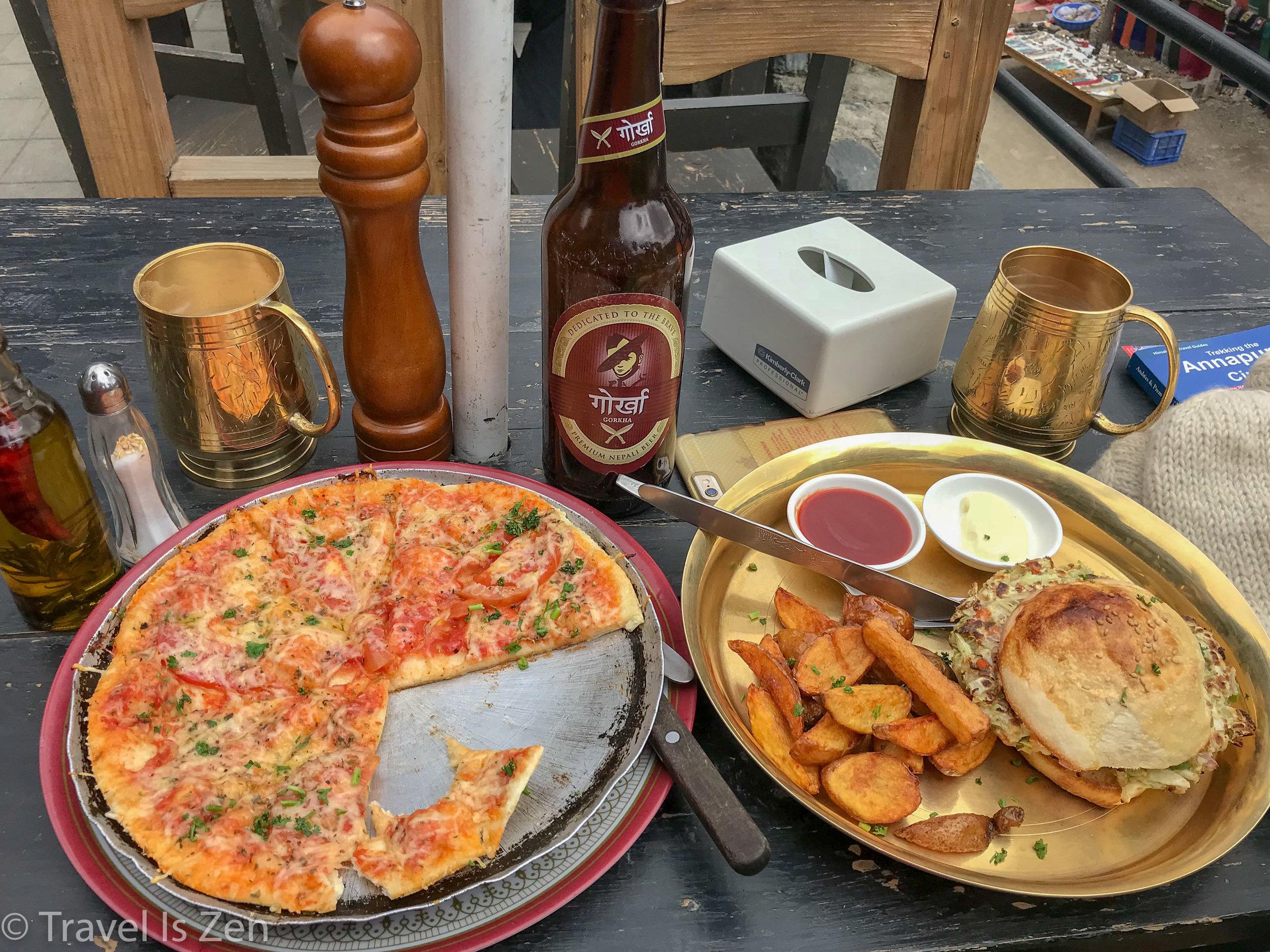 best pizza & veggie burger