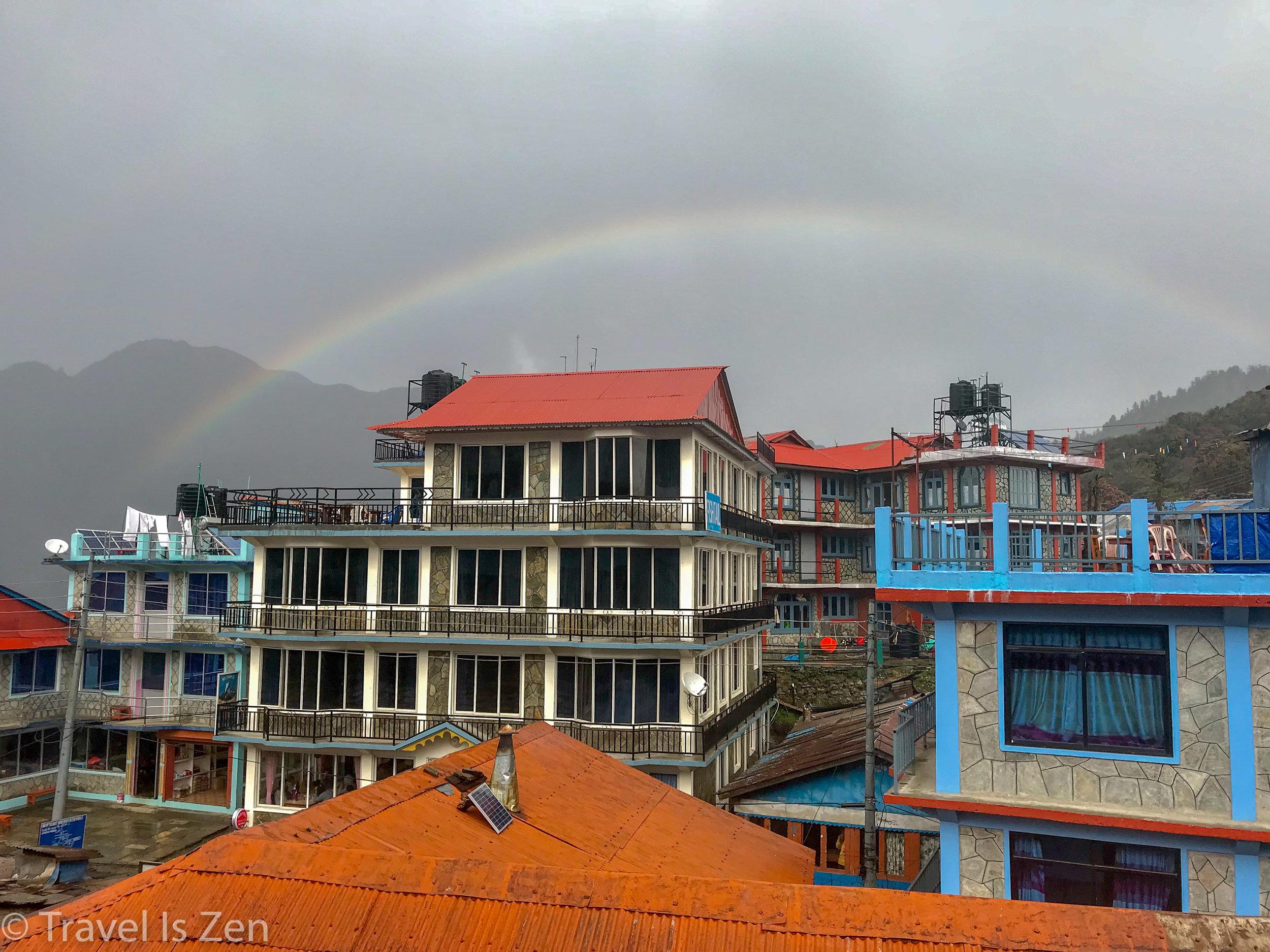 Happy Birthday to Us!! Rainbows are the best birthday gift!!