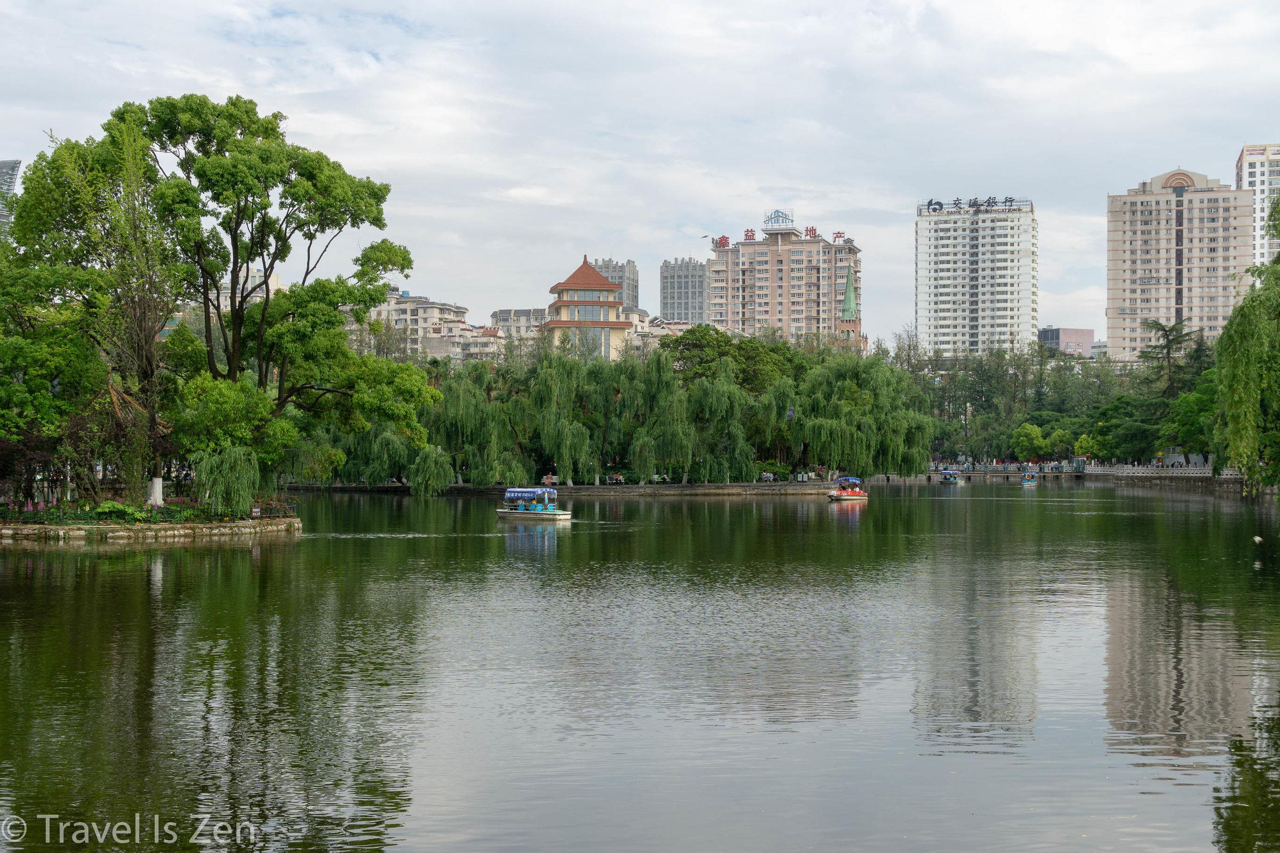 Green Lake (Cuihu) Park, Kunming