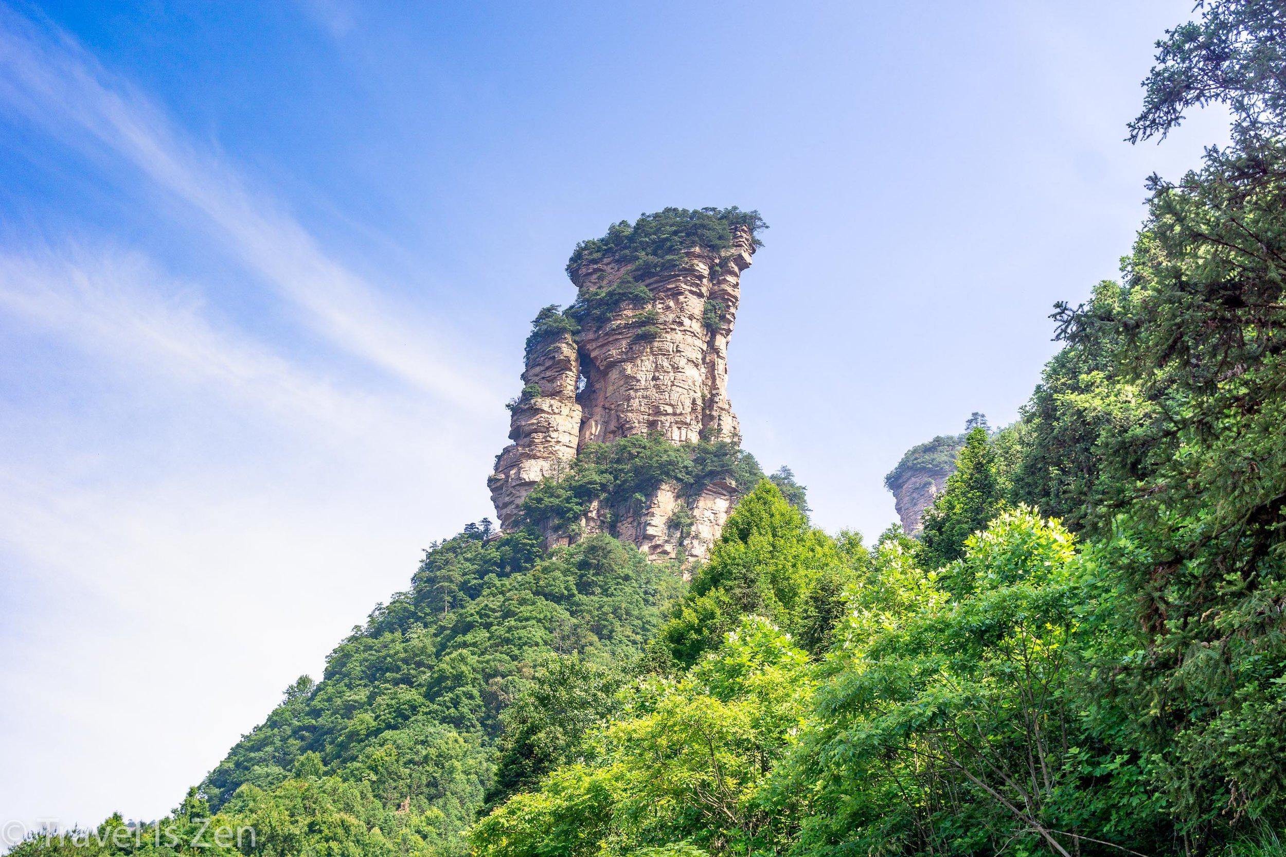 Tianzi Mountain (天子山) Area, Yangjiajie