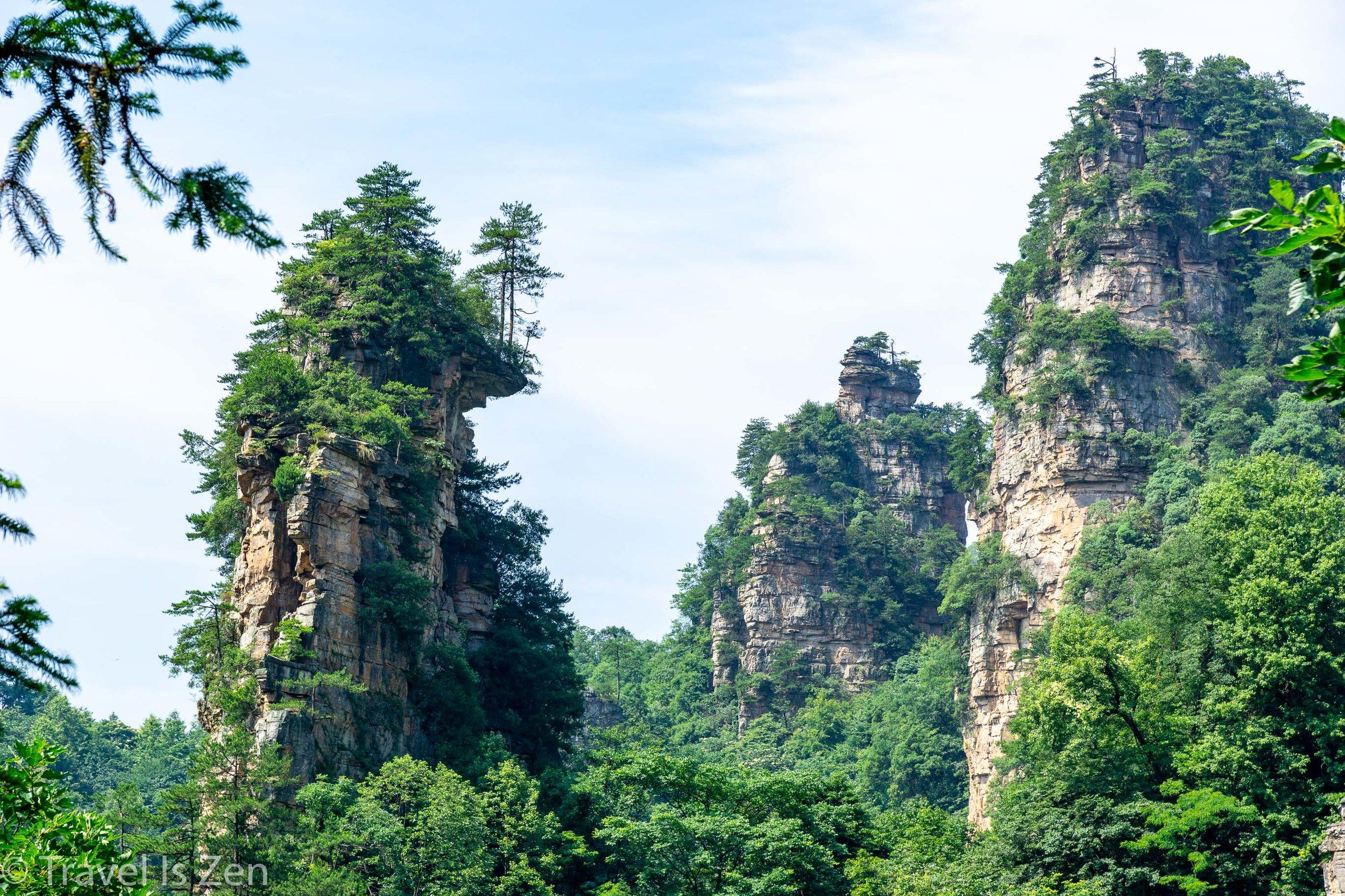 Tianzi Mountain (天子山), Yangjiajie Scenic Area