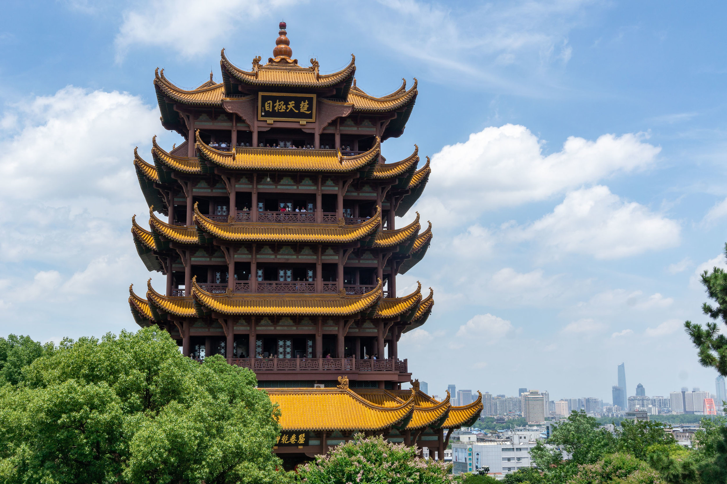 Yellow Crane Tower, Wuhan, China