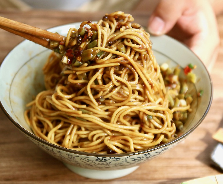 Hot Dry Noodles 热干面 Re Gan Mian In Wuhan China Travel Is Zen