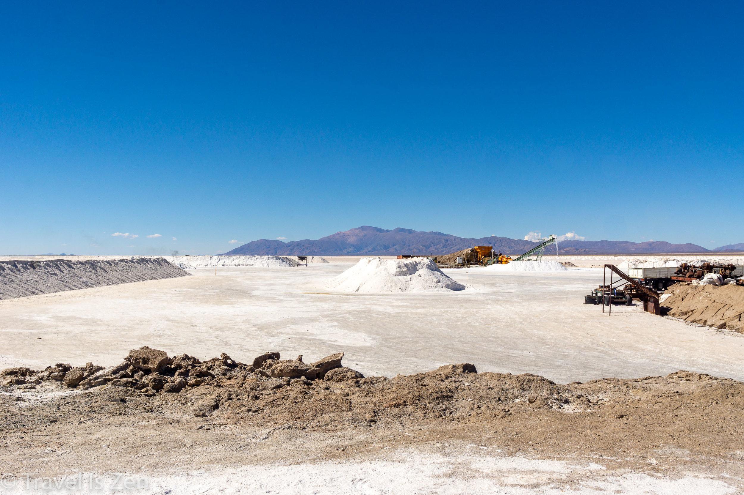 mining the Salt Flats