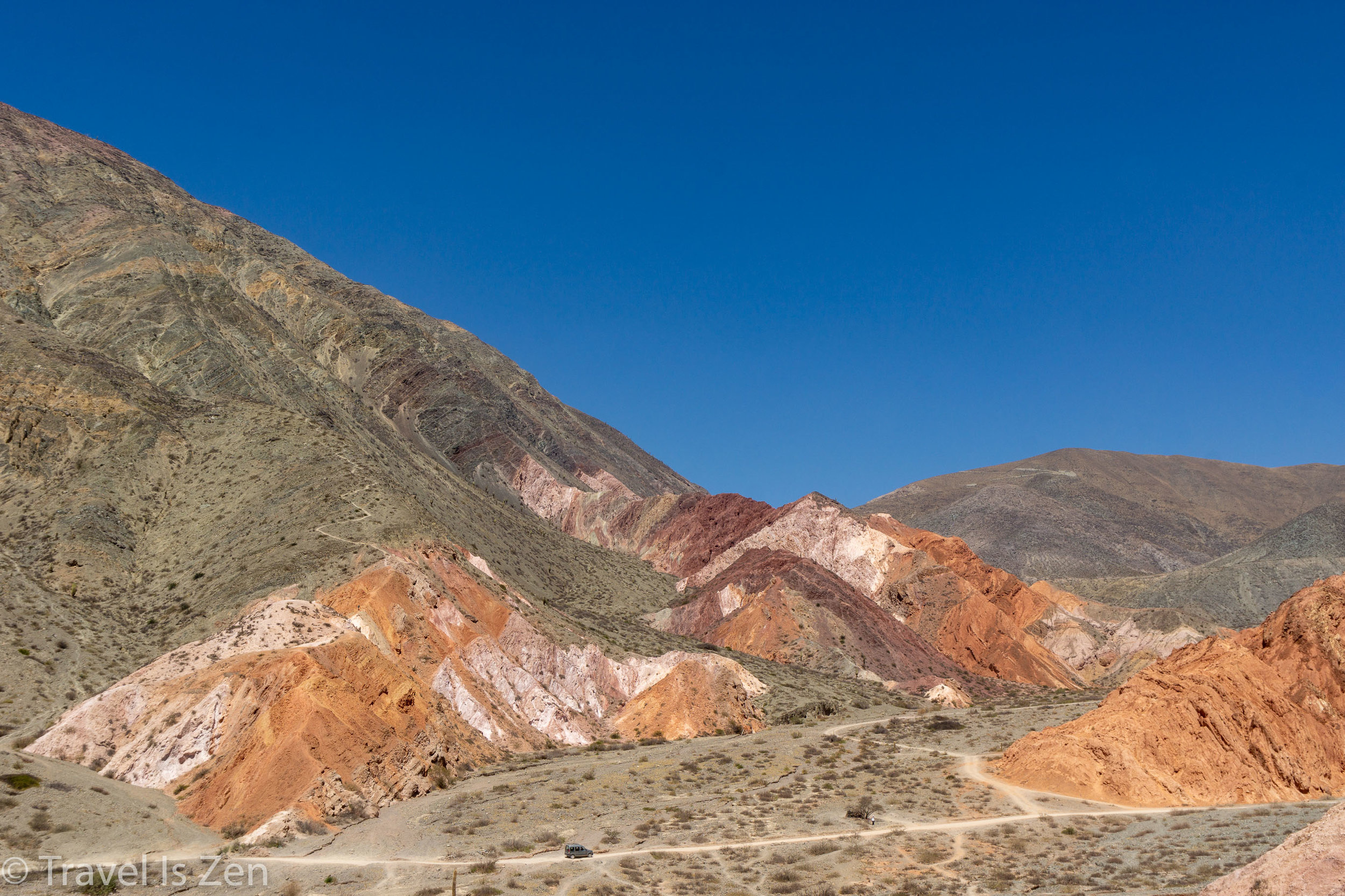 Seven Colors of Purmamarca, Rainbow Valley in Jujuy Province, Argentina