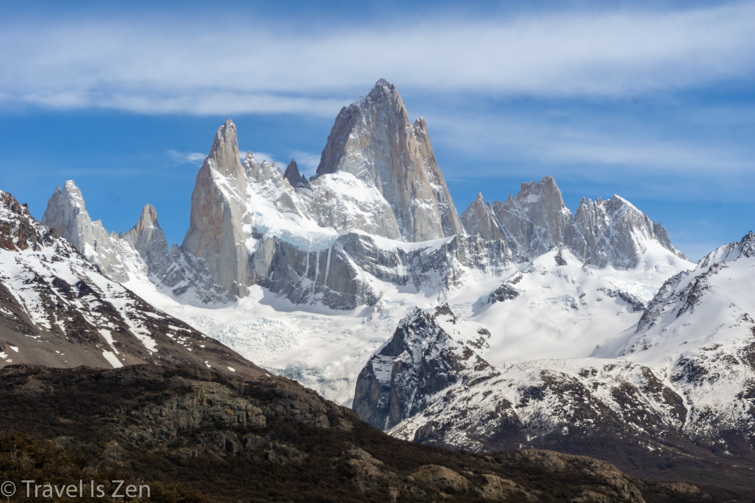 Fitz Roy, the highest peak in Glacier National Park, Argentina