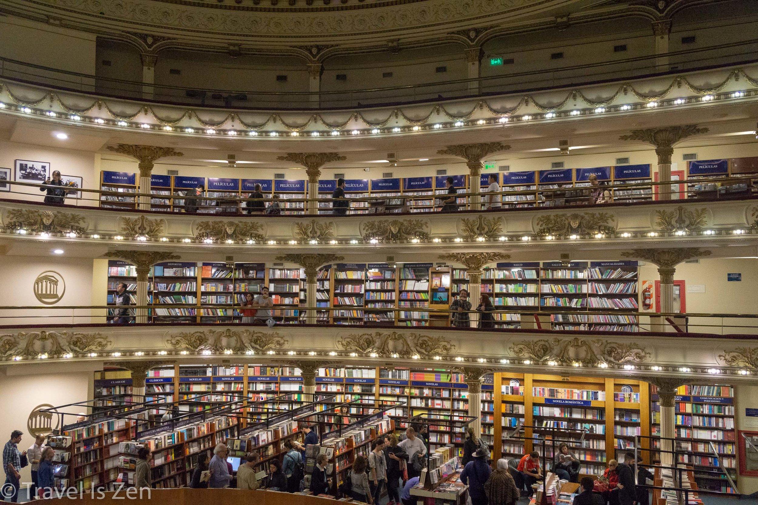 El Ateneo Grand Splendid Bookstore
