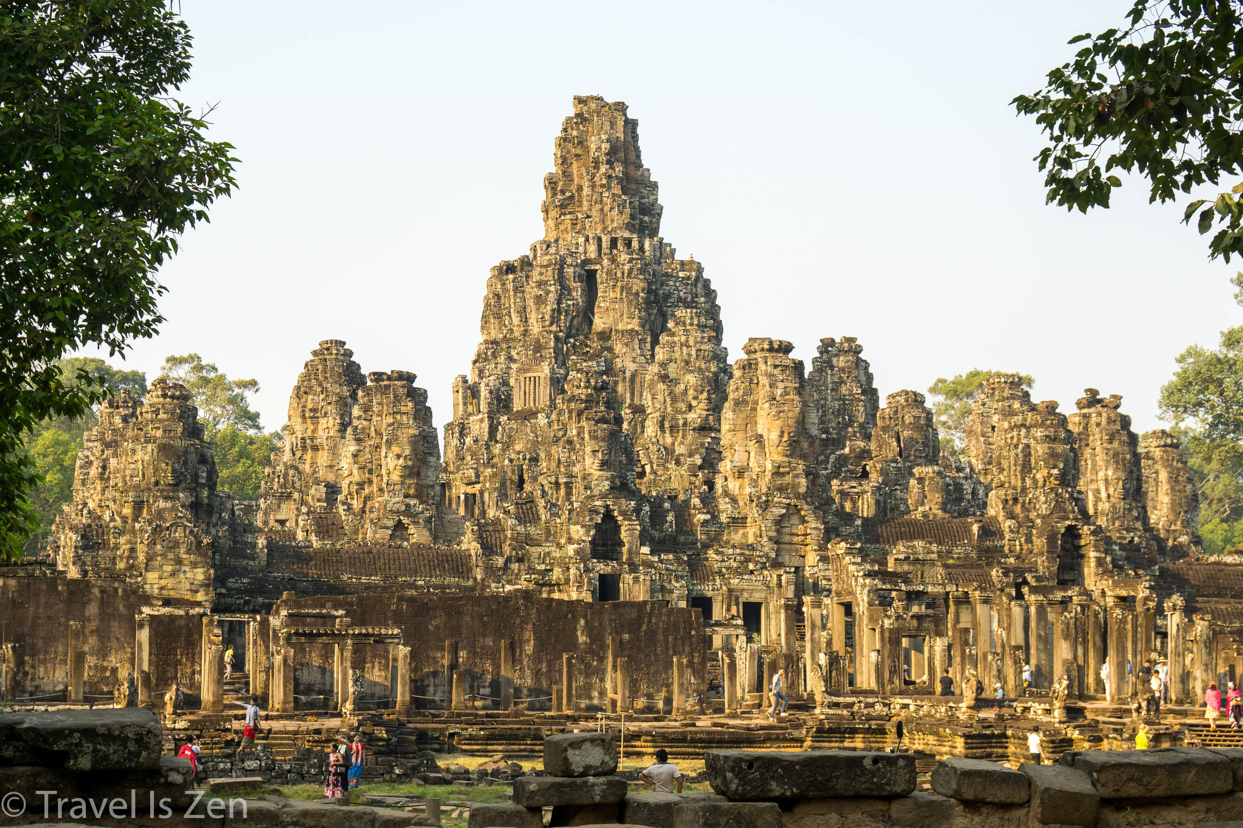 Three day park pass in Siem Reap USD$124 for two people