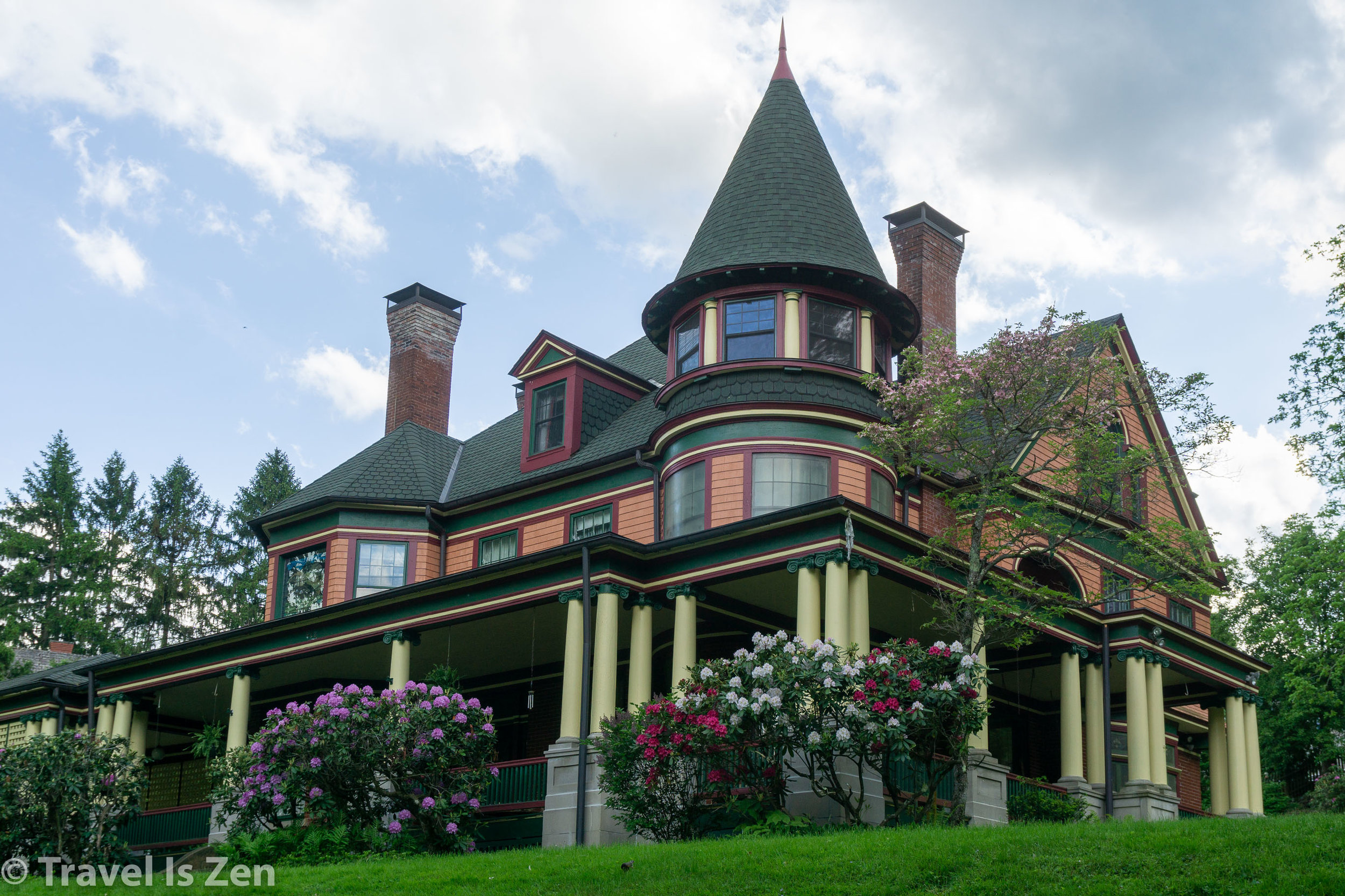 George and Nelly Miller mansion, 1901