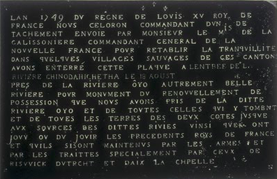 French territory marker