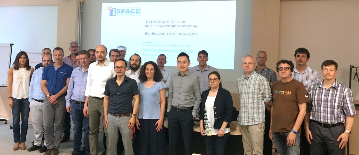 Bluespace kick-off in Eindhoven, 19th June 2017