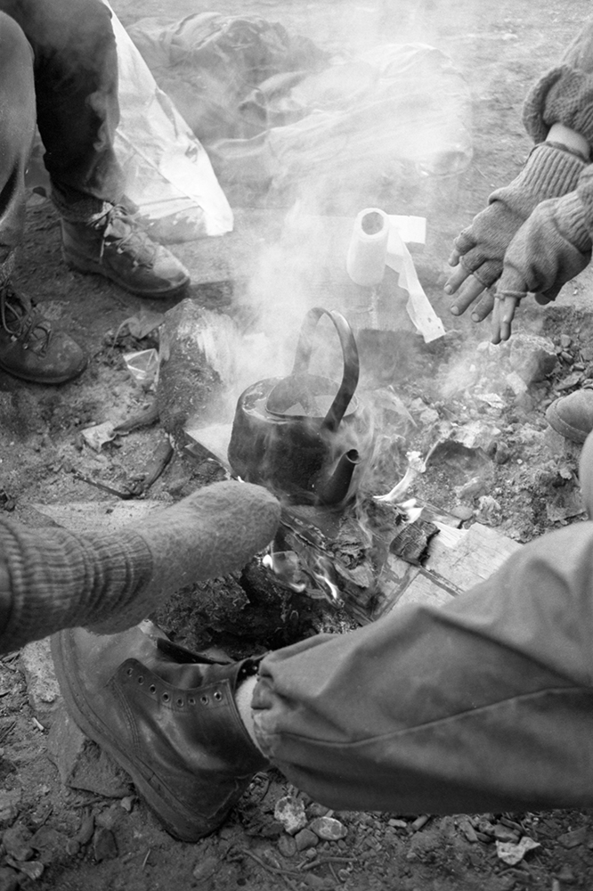 """""""At the heart of each camp was the fire, with blackened kettles and endless discussions, punctuated by evictions and nuclear exercises, when women were forcibly moved and the fires extinguished."""" COMMON PEOPLE by Dr Rebecca Johnson"""