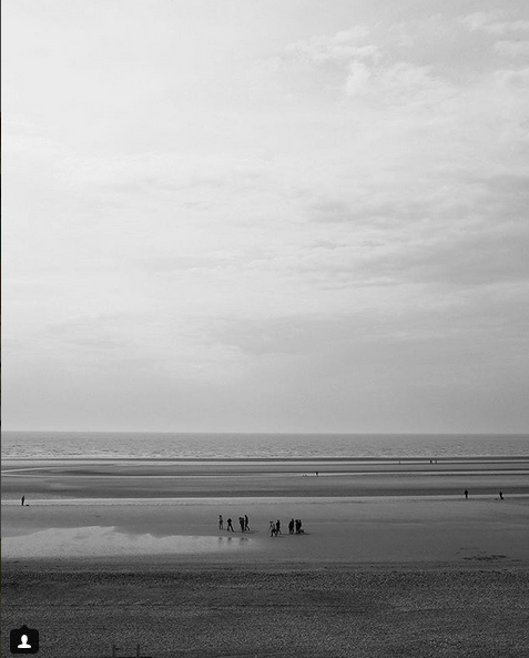 """""""Camber Sands, the Hamptons of England... Wild and windswept, the backdrop to 1000's of fashion shoots over the last three decades. Even whilst it pours down with rain five miles inland, you can still get sunburnt in the dunes."""" Geoff Waring"""