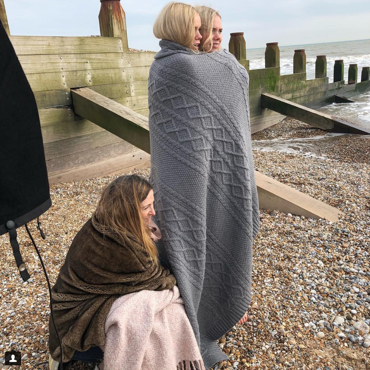 """Oh we do like to be beside the seaside!"" Sam Hoad"