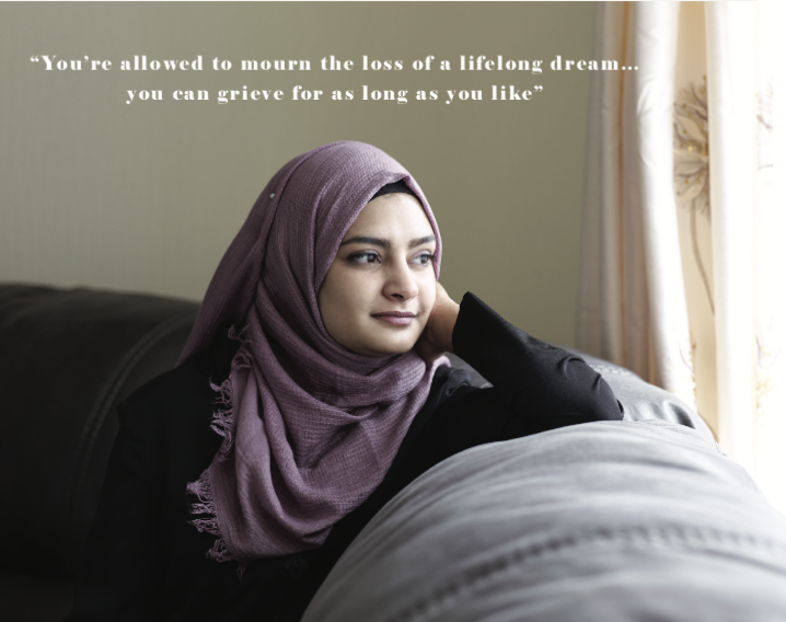"""""""...life is about to throw you the biggest curveball ever... But you'll learn to find the beauty within it all"""" Azreen Somra's letter to her teenage self. ON A JOURNEY by Sam Hoad. Portrait by Suki Dhanda"""