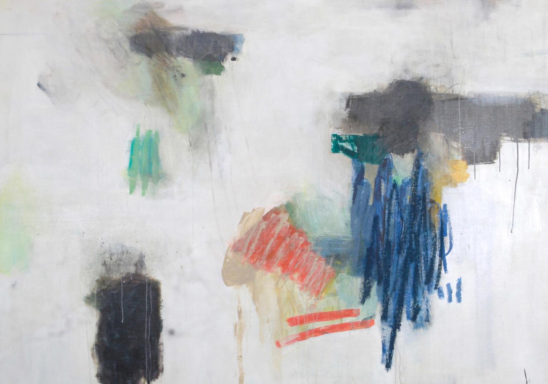 """NEW SMYRNA #34/ mixed media on canvas/ 47"""" x 67"""""""