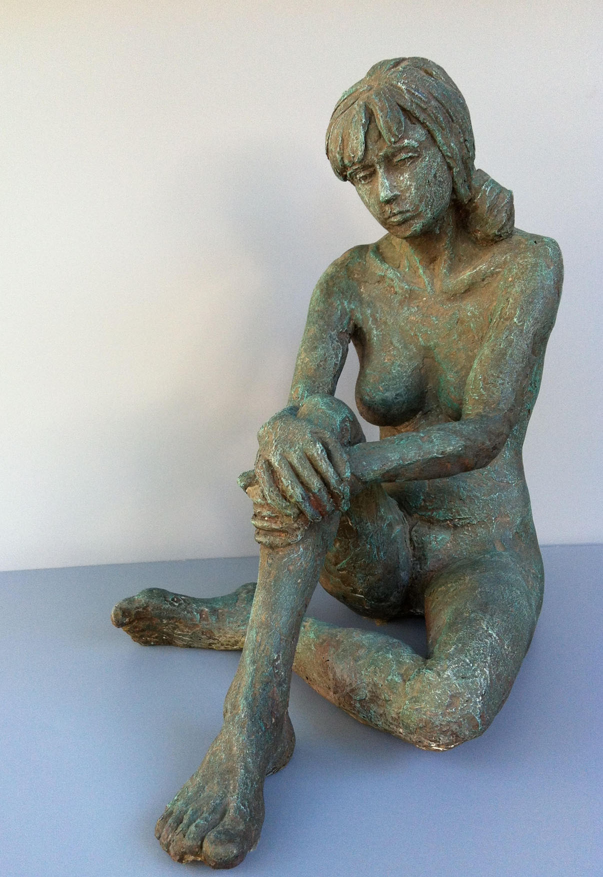 "DAWN/ cast bronze/ 20""x16"""