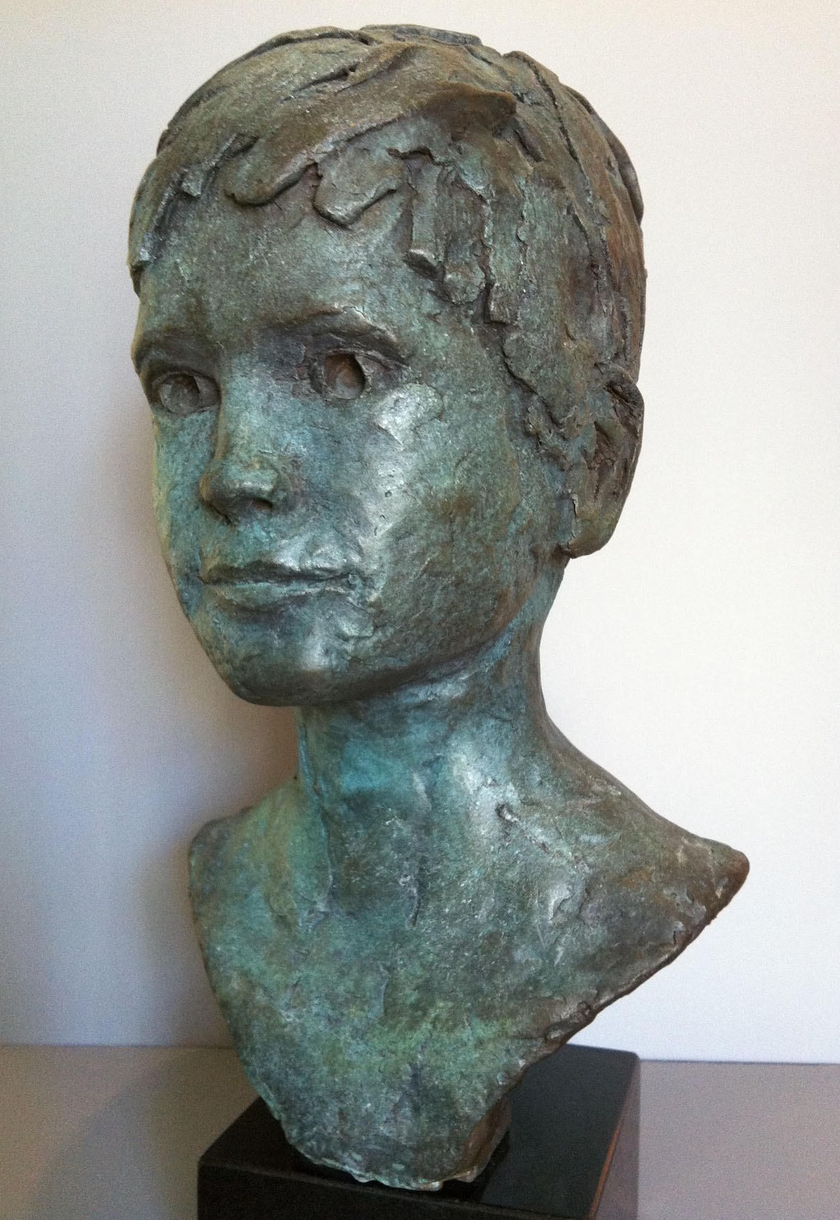 "SCOTT/ cast bronze/ 20""x16"""