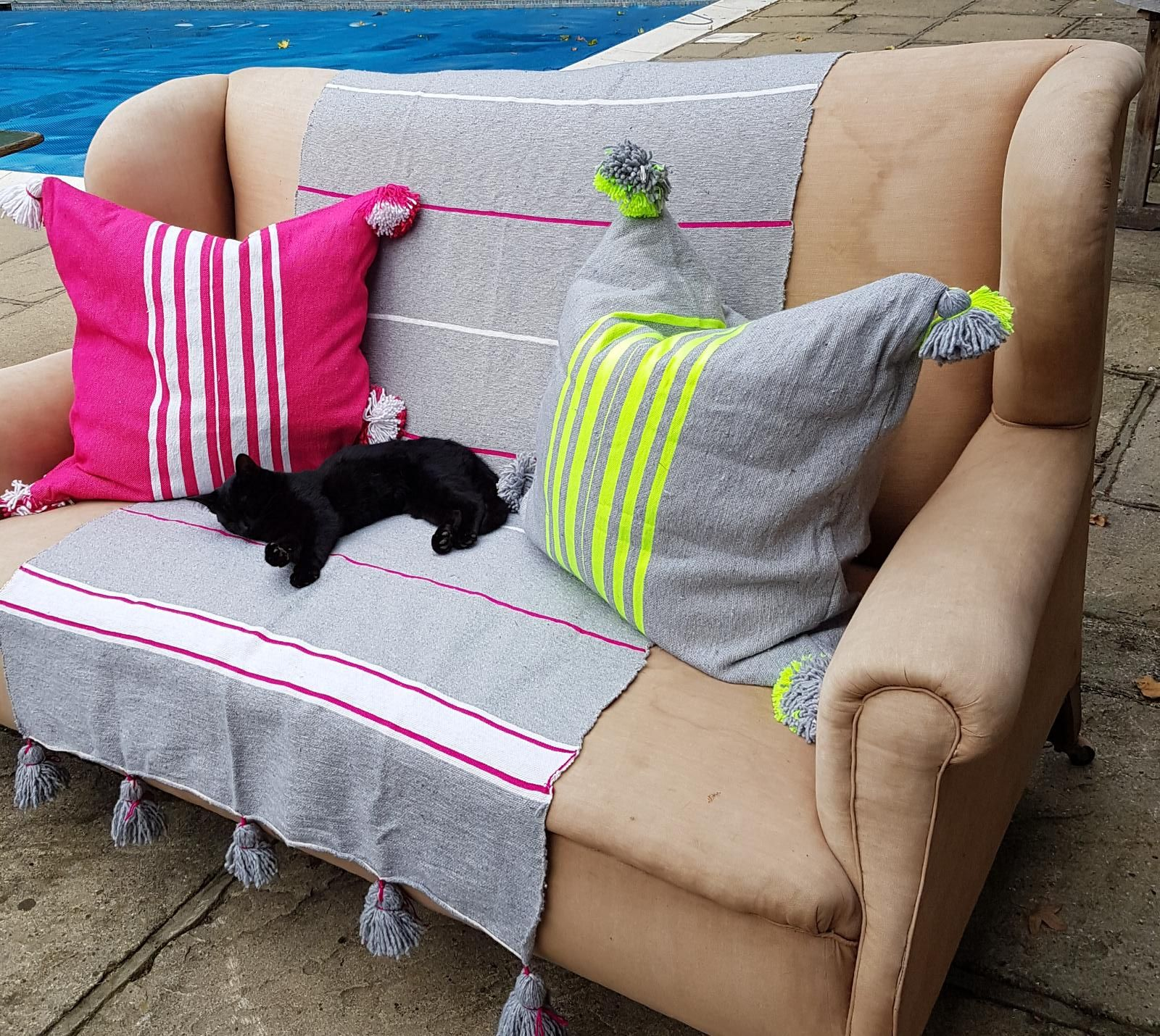 Shop the look, click  here for cushions  and  here for throw .