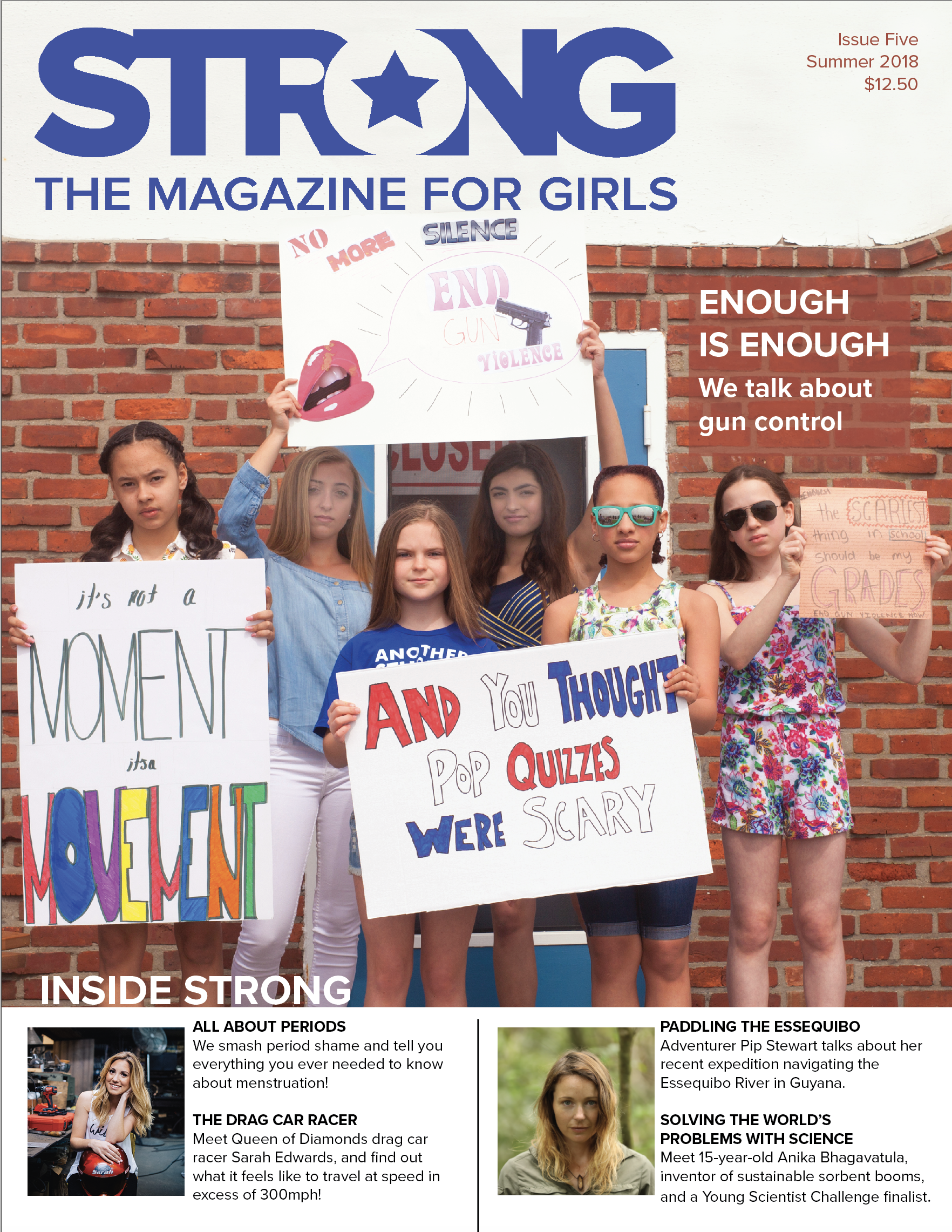 GIFT SUBSCRIPTION - Purchase a gift subscription to STRONG The Magazine for Girls