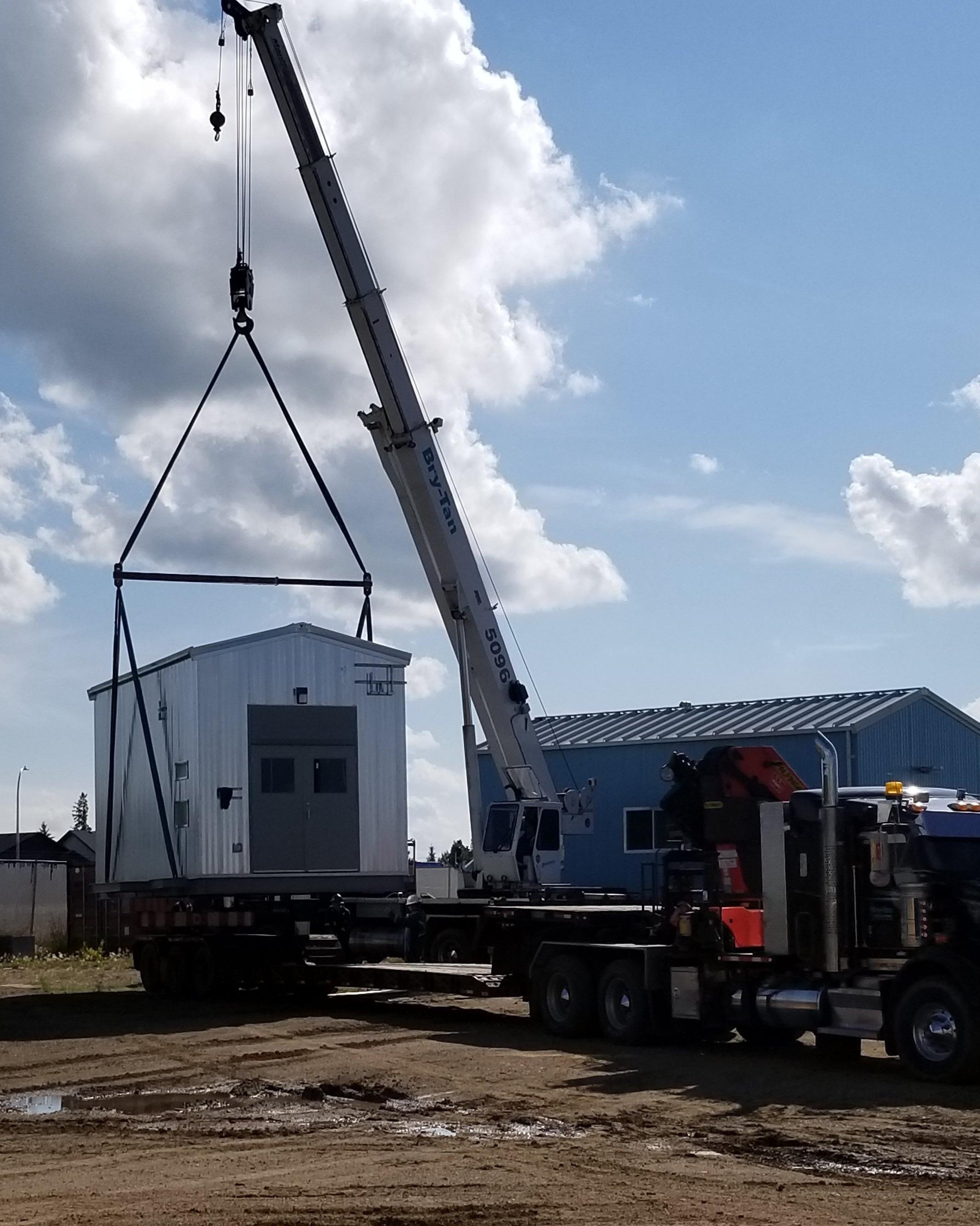 2019 - 50 ton - load metal building at vertex