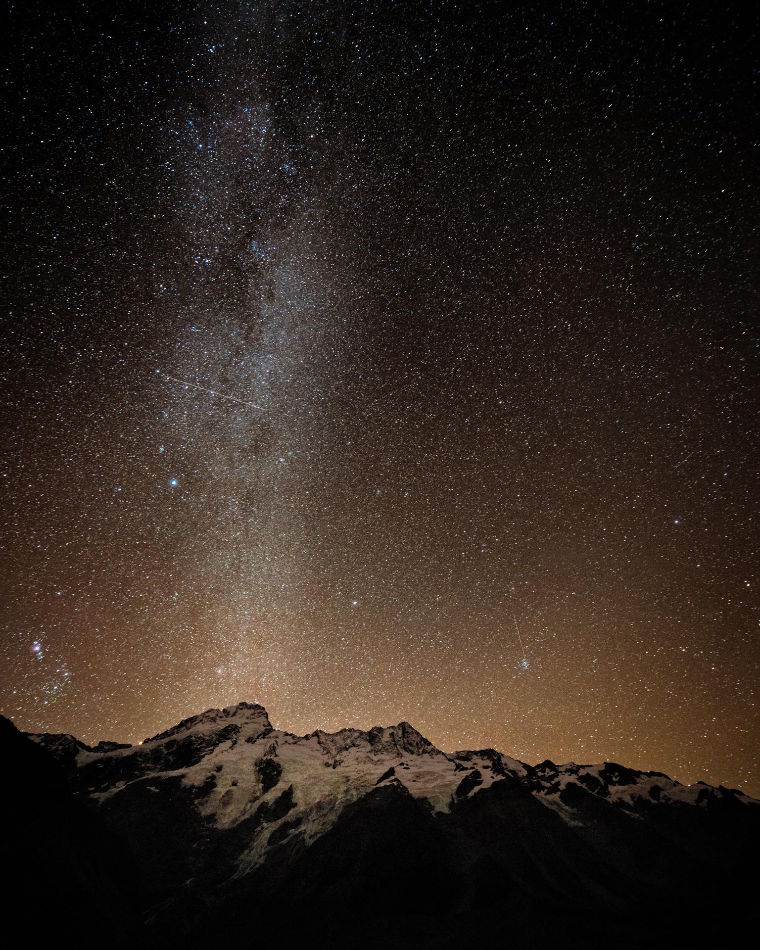 Milky Way, Mt Cook, 2017