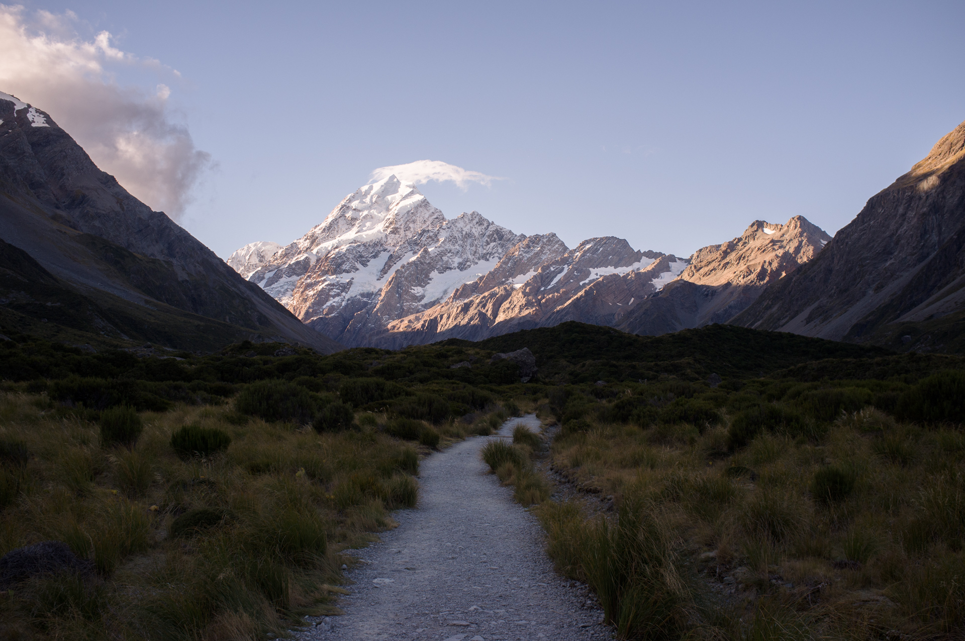 Hooker Valley Track, Mt. Cook, 2017