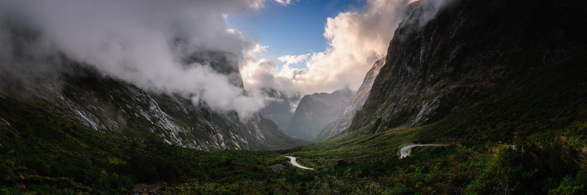 Gate to The Fiordland, Fiordland National Park, 2017
