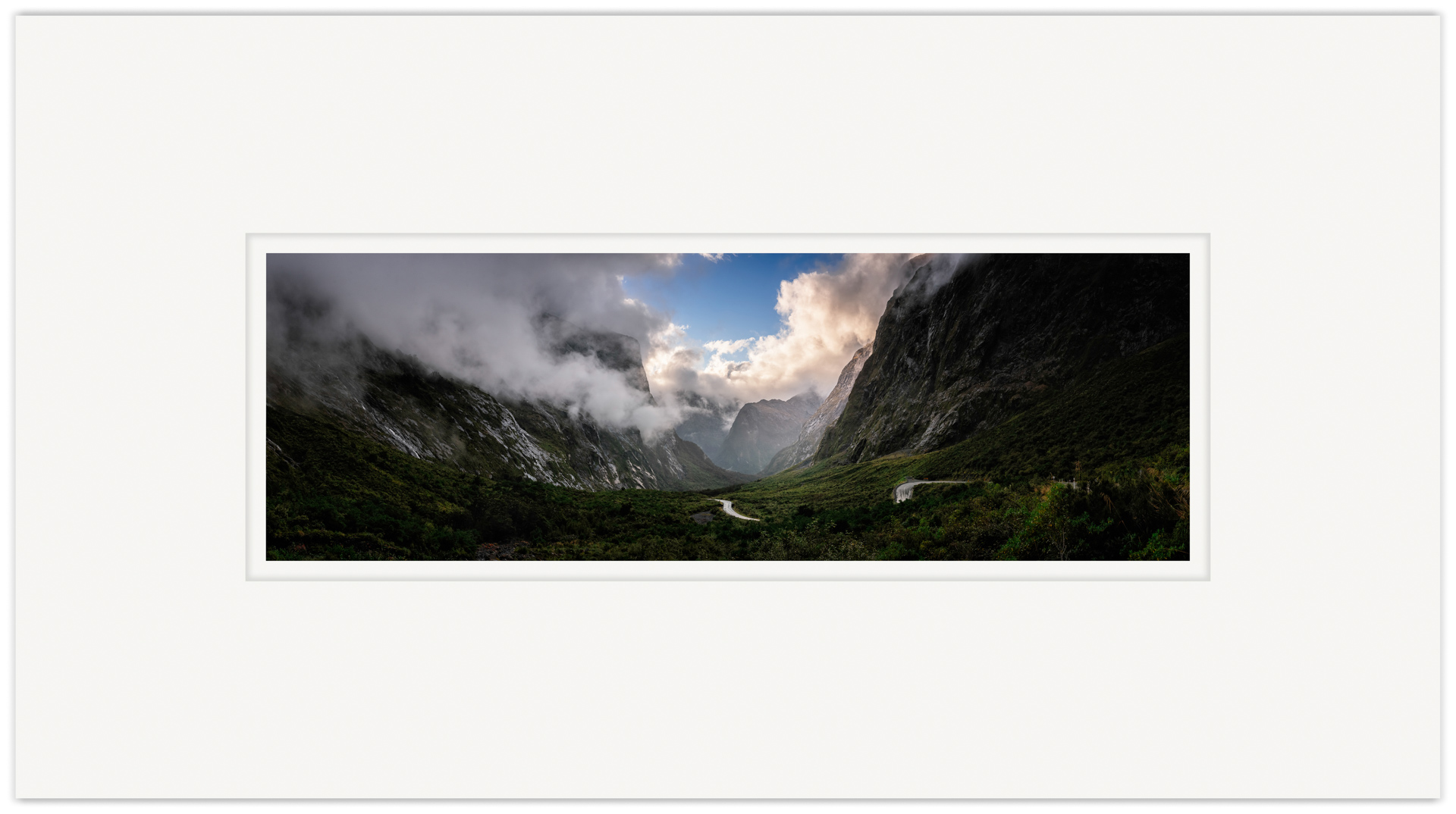 Gate to The Fiordland   20cm x 60cm Photo Paper Limited Edition of 99   IDR 1,699,000