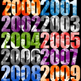 the 2000's - Get Free– The Vines                2002Are You Gonna Be My Girl- Jet           2003Pretender– Foo Fighters              2007Misery Business– Paramore             2007Use Somebody– Kings of Leon            2008Sex on Fire– Kings of Leon            2008