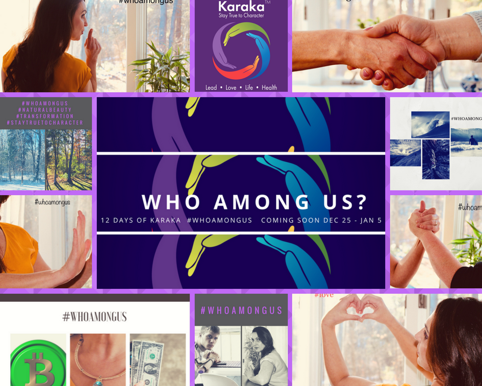 Power, trust, experience, collaboration, love, discretion and everything in between. We shared some questions with you for 12 days and hope you enjoyed our  #whoamongus  campaign.  Here's a postcard from us to you.  Stay True to Character, Artvine (Vina)   #whoamongus ,  #staytruetocharacter ,  #12daysofkaraka ,  #karaka ,  #spiritandsoul