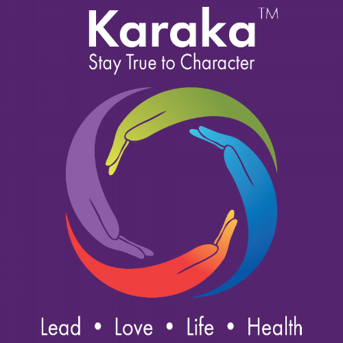 """Our beautiful and inspiring logo, is meant to depict the meaning of our brand. Karaka in Sanskrit means """"to cause significance, individual and collective"""". The hands depict our significance when we each individually lend a hand to cause collective significance."""