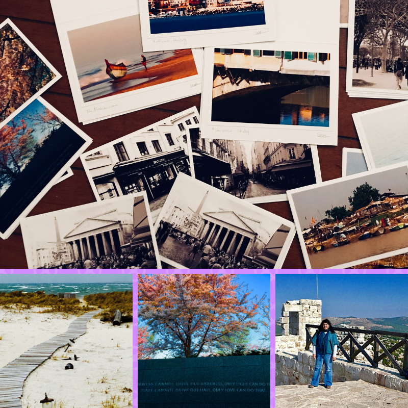 Some pictures from Dimple's travels and journeys around the world.