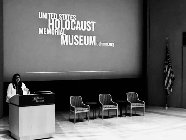 Introducing a session at the U.S. Holocaust Museum #humanitarian #humanrights #lovehumanity